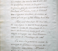 Chartrier Roquefeuil de 1711. Page 04