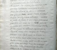 Chartrier Roquefeuil de 1711. Page 06
