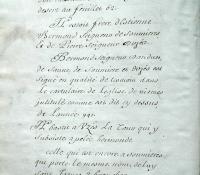 Chartrier Roquefeuil de 1711. Page 08