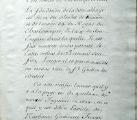 Chartrier Roquefeuil de 1711. Page 13