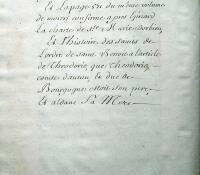Chartrier Roquefeuil de 1711. Page 14