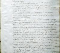 Chartrier Roquefeuil de 1711. Page 15