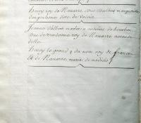 Chartrier Roquefeuil de 1711. Page 19
