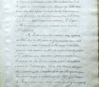 Chartrier Roquefeuil de 1711. Page 21