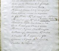 Chartrier Roquefeuil de 1711. Page 23