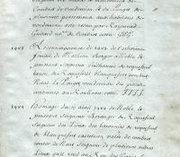 Chartrier Roquefeuil de 1711. Page 26