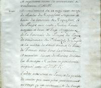 Chartrier Roquefeuil de 1711. Page 28