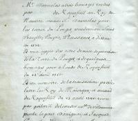 Chartrier Roquefeuil de 1711. Page 29