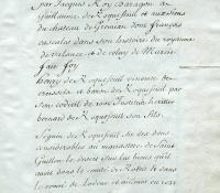 Chartrier Roquefeuil de 1711. Page 34