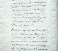Chartrier Roquefeuil de 1711. Page 37