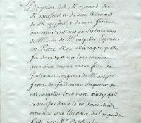 Chartrier Roquefeuil de 1711. Page 38