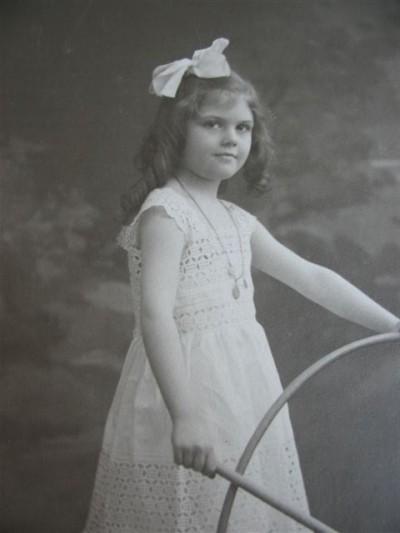 Jacqueline de Roquefeuil enfant