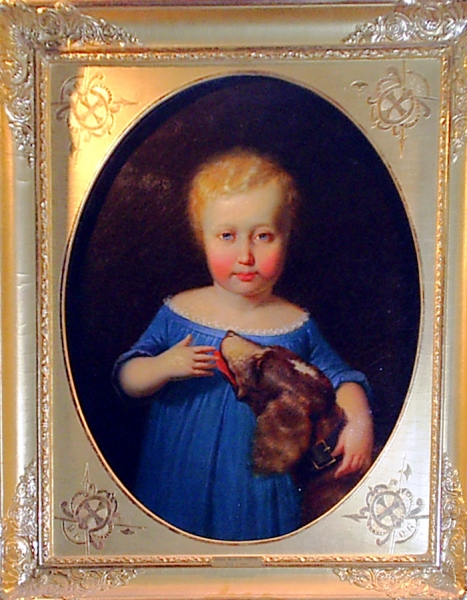 Melchior de Roquefeuil et du Bousquet enfant