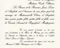 18 septembre 1993- Faire-part Roquefeuil - Arnaud de Roquefeuil-Montpeyroux