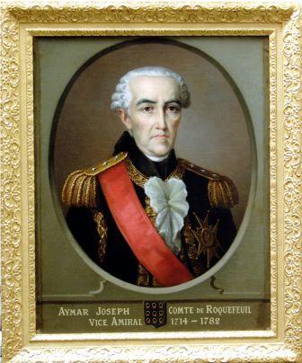 Aymar joseph Comte de Roquefeuil - Vice Amiral 1714-1782 -wiki
