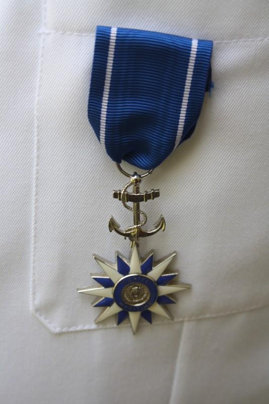 La médaille du mérite maritime ivoirien