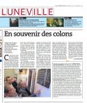 Marie Antoinette Roquefeuil (née Baratchart) et les 4 mois d'odyssée des 50 petits colons de la paroisse Saint Jacques de Lunéville