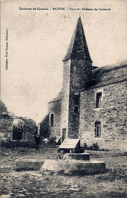 Tour du chateau de Kerlouët